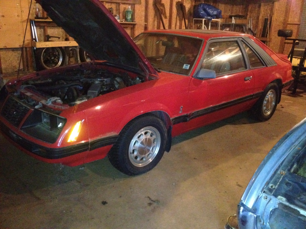1983 Mustang, retirement car build or; The last car I'll ever build 2a2f4510