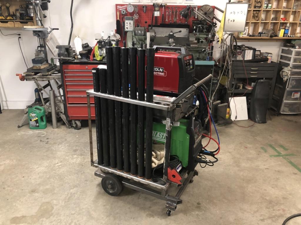 Welding cart fabrication 3a0a4410