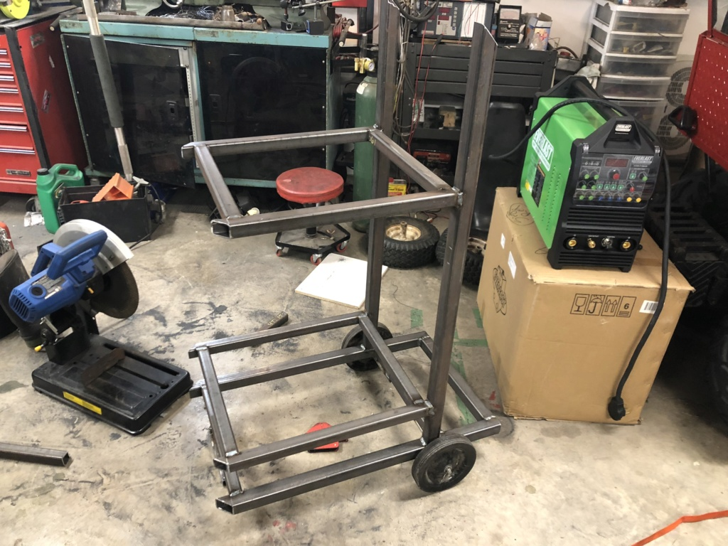 Welding cart fabrication 4612c810