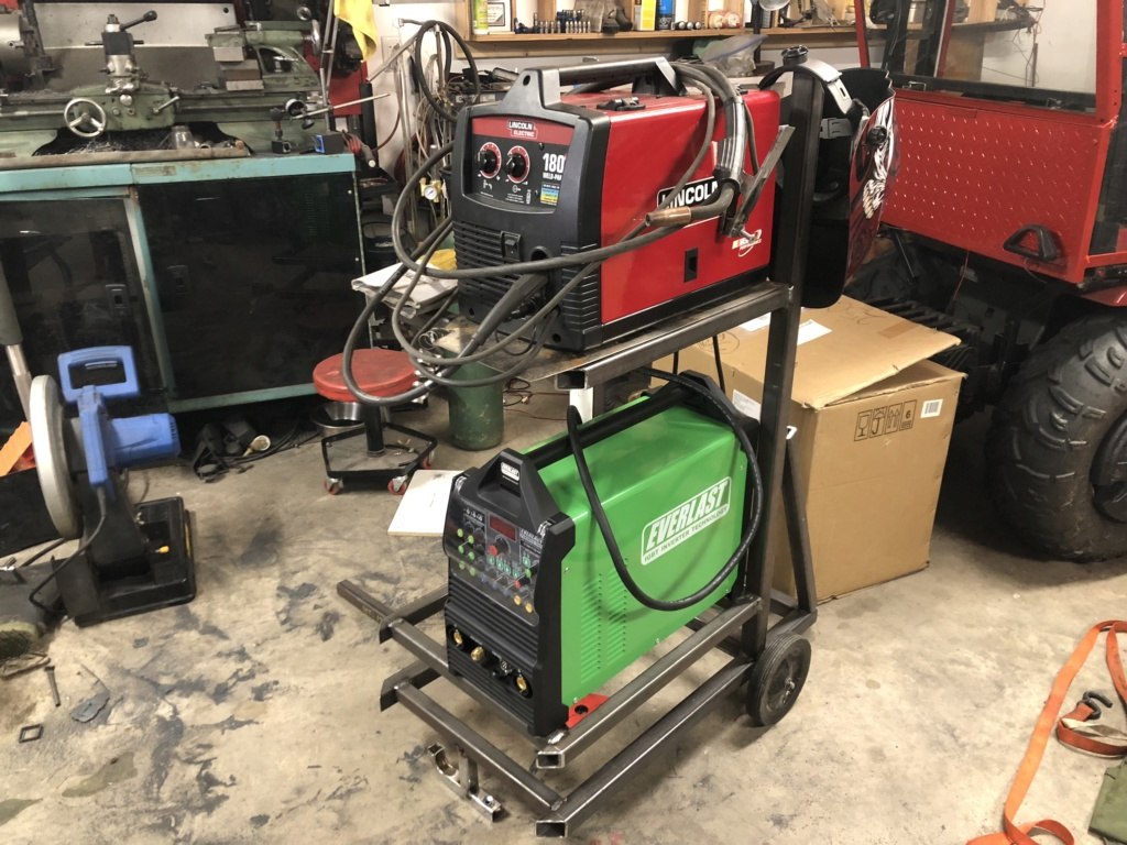 Welding cart fabrication 4709f710