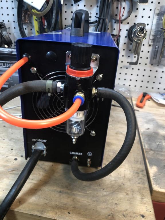 "CUT50P plasma cutter: intial setup and ""fixes"" 66c52910"