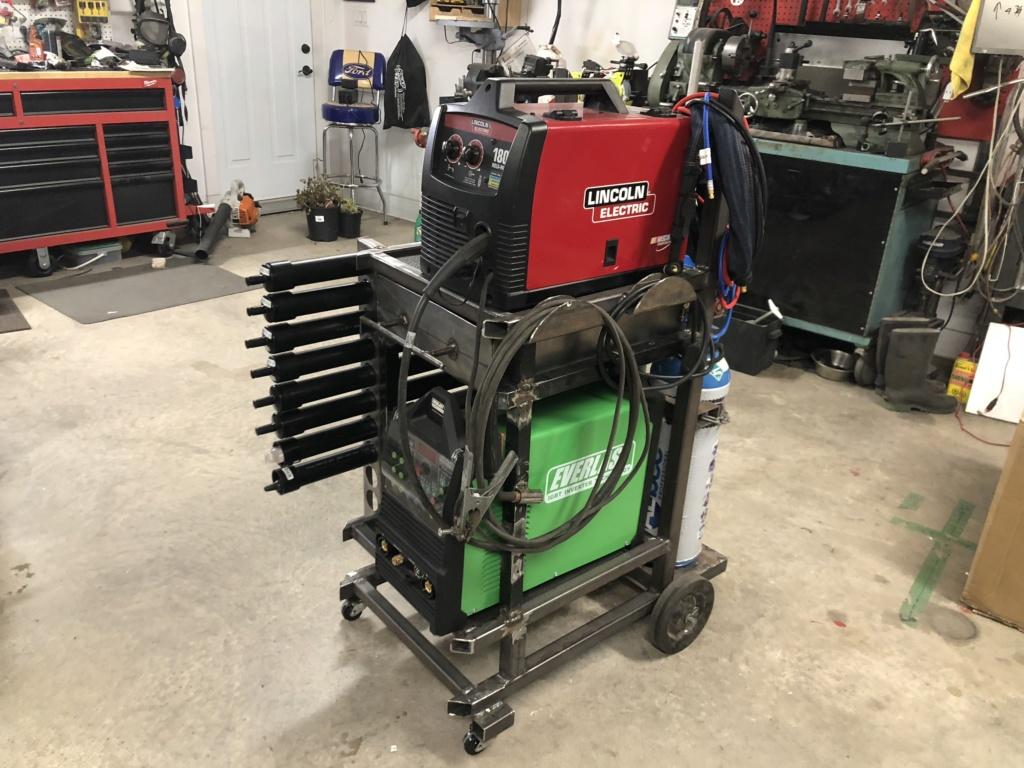 Welding cart fabrication E4520610