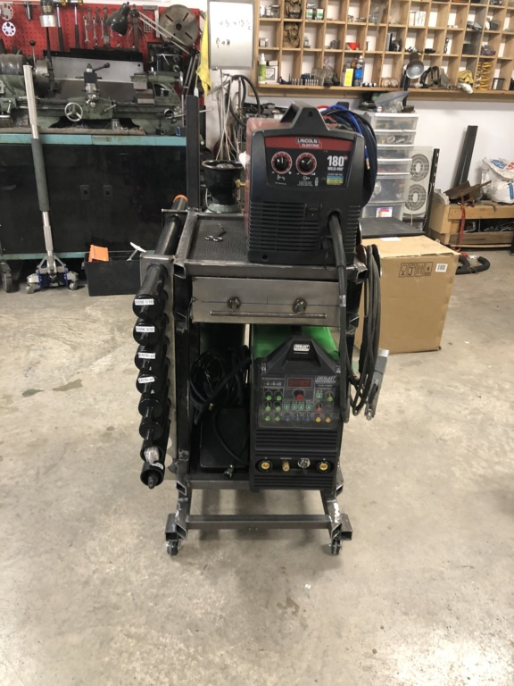 Welding cart fabrication Fae36110