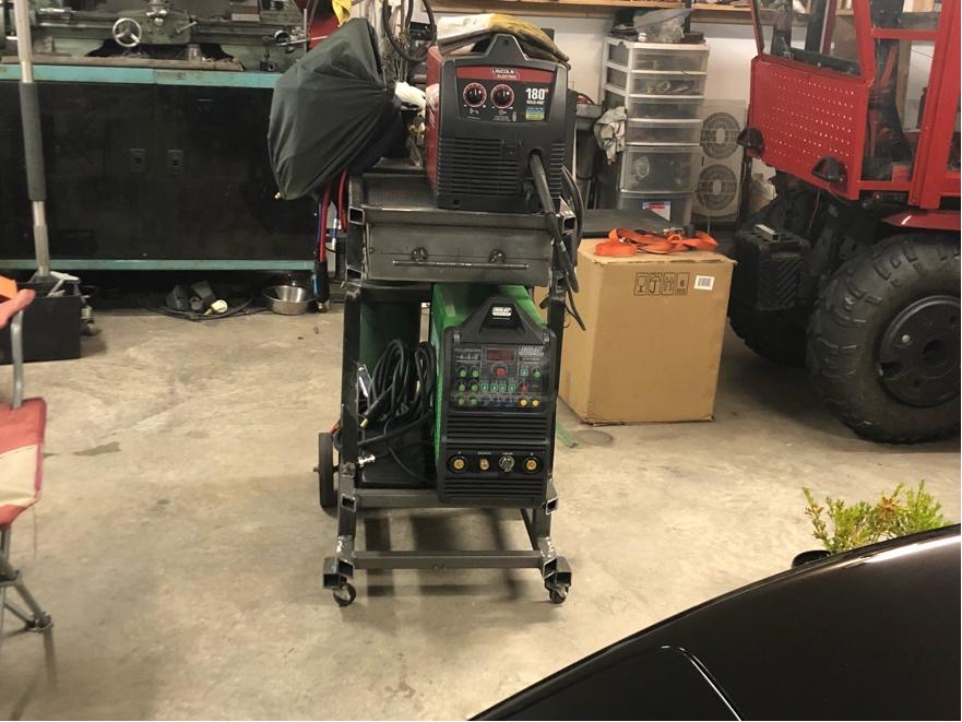 Welding cart fabrication Fr_42914