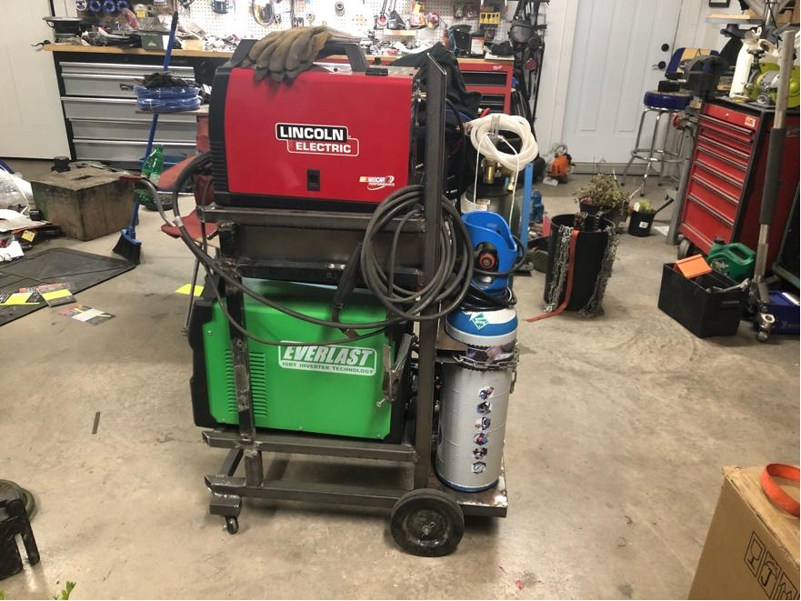 Welding cart fabrication Fr_42916