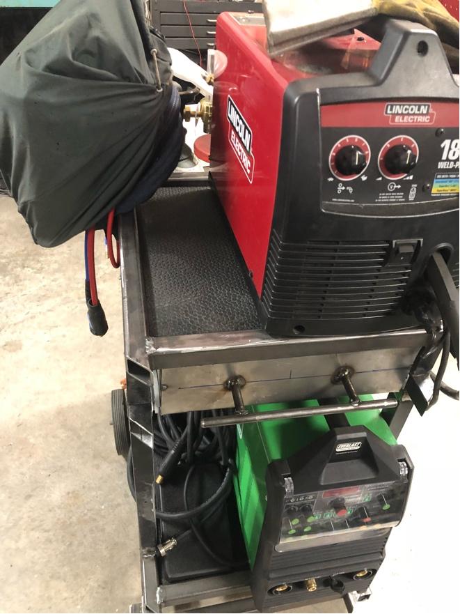 Welding cart fabrication Fr_42917
