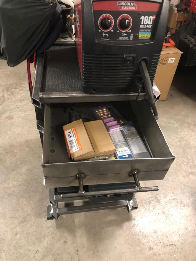 Welding cart fabrication Fr_42918