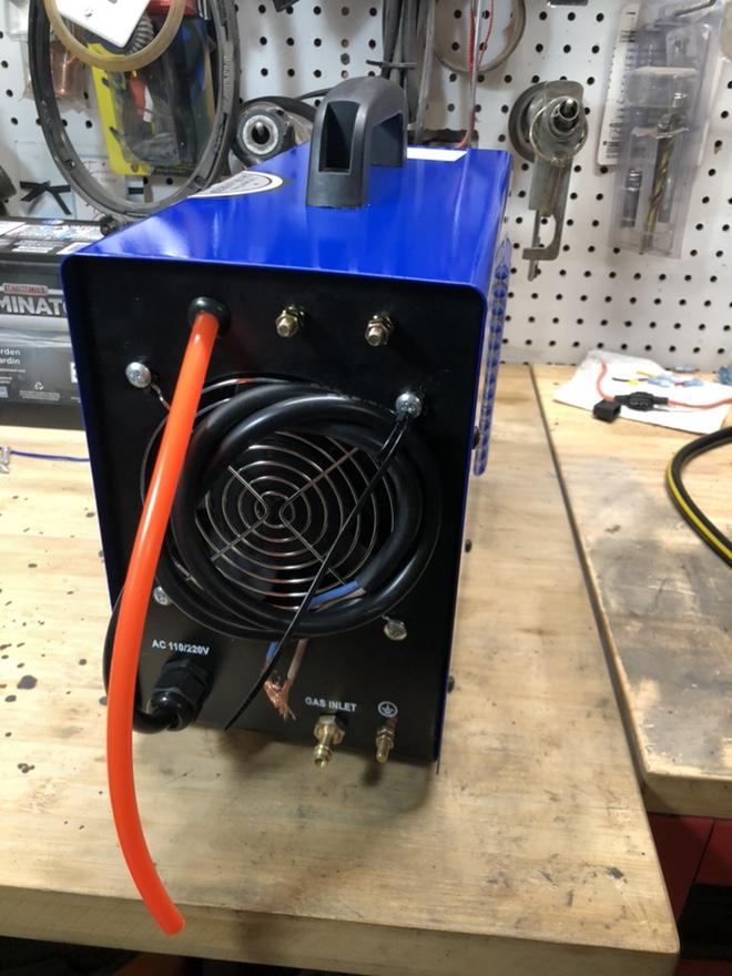 "CUT50P plasma cutter: intial setup and ""fixes"" Fr_43914"