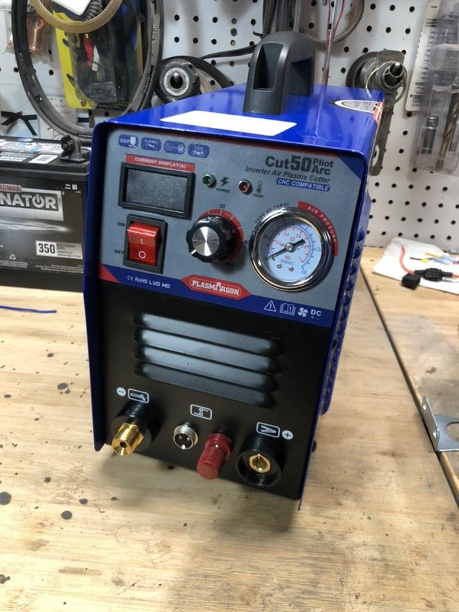 "CUT50P plasma cutter: intial setup and ""fixes"" Fr_43915"