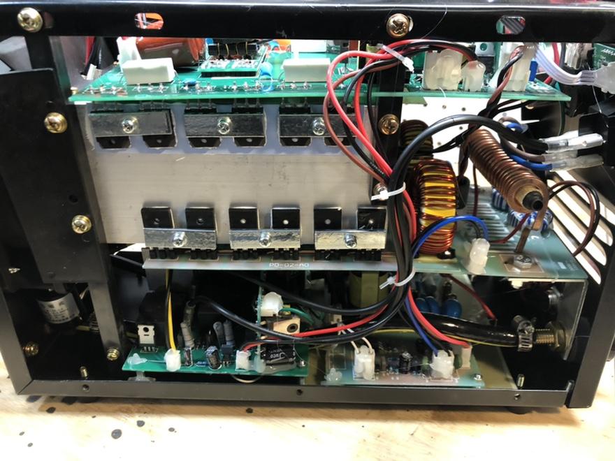 "CUT50P plasma cutter: intial setup and ""fixes"" Fr_43916"