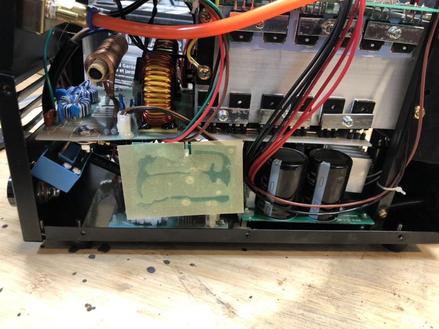 "CUT50P plasma cutter: intial setup and ""fixes"" Fr_44010"