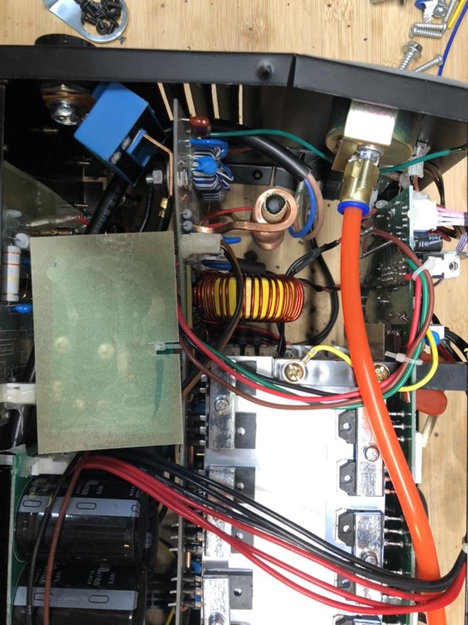"CUT50P plasma cutter: intial setup and ""fixes"" Fr_44011"
