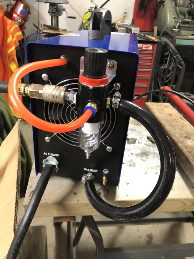 "CUT50P plasma cutter: intial setup and ""fixes"" Fr_44013"
