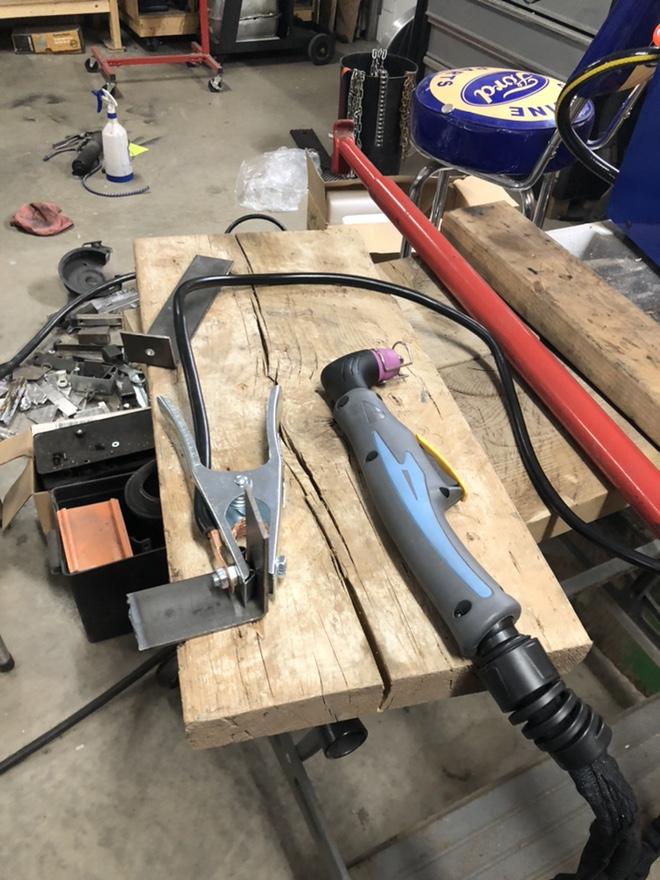 "CUT50P plasma cutter: intial setup and ""fixes"" Fr_44015"