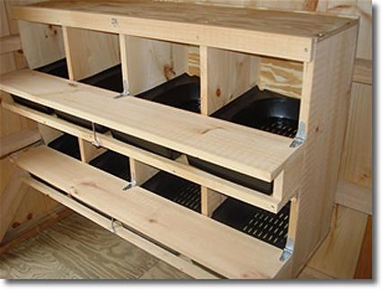 poules - Quelques modèles de pondoirs pour nos poules 46466010