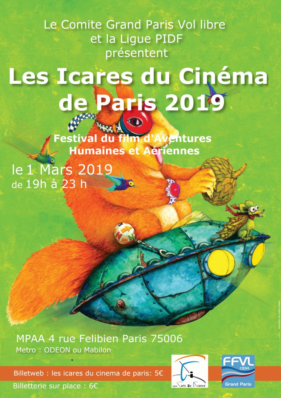 Vendredi 1er mars : Icares du cinéma Affich10