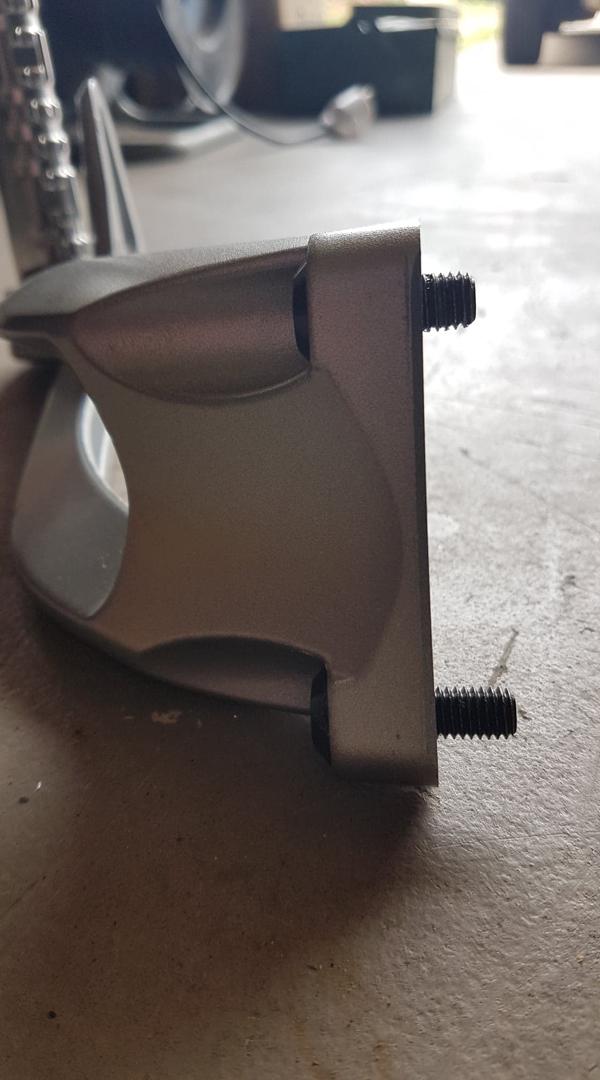 support cale pieds FZ1 pour MT 09 SP 68977210