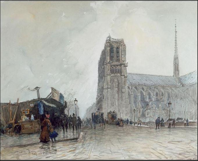 Notre Dame de Paris brûle ! 190010