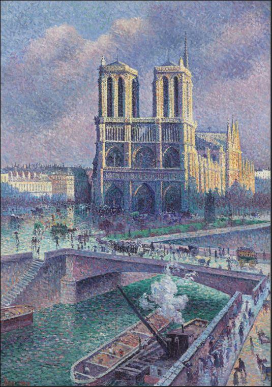 Notre Dame de Paris brûle ! Quai_110