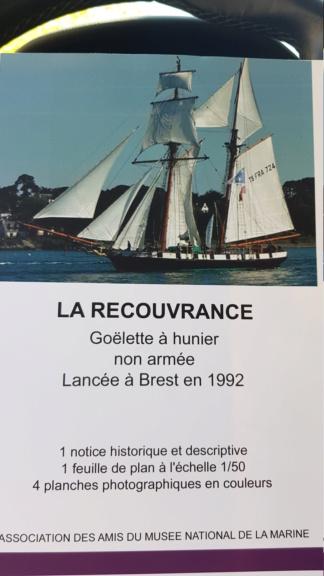 Goelette Recouvrance (Plan AAMM 1/50°) par Tenka 15554910