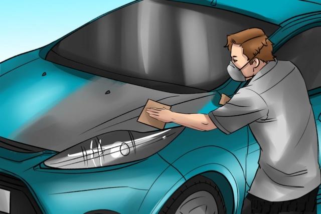 [GUIA PARA MECANICOS] Cómo pintar un vehículo. Paso_210