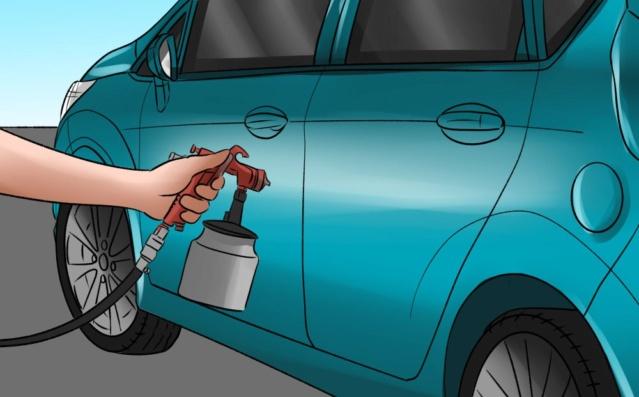 [GUIA PARA MECANICOS] Cómo pintar un vehículo. Paso_810