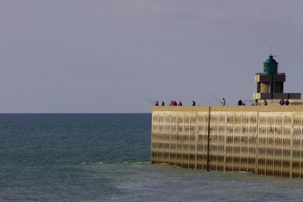 Jetée plage de Dieppe 14062011