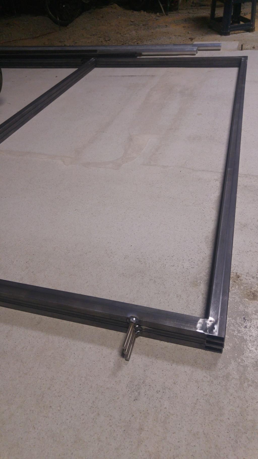 Riveter tole alu sur cadre acier, dilatation ? 20190710