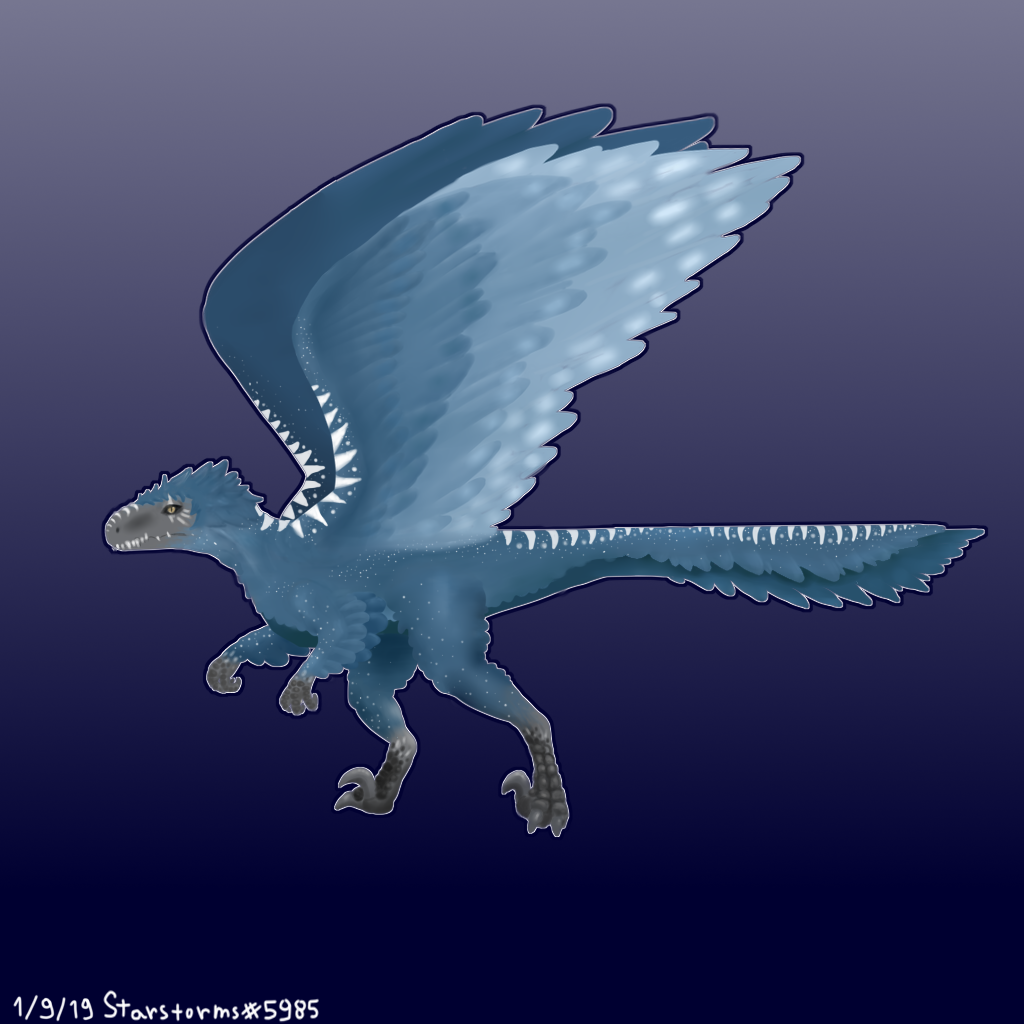 Contest #6 - Raptor Dragon - Paper or Digital Raptor11