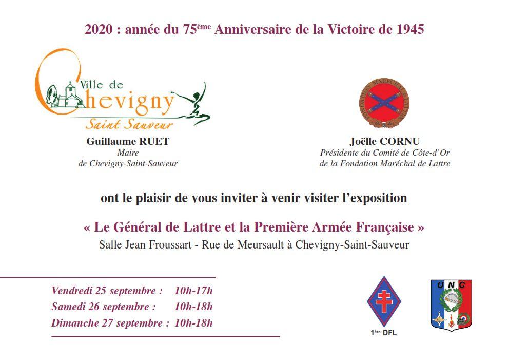 Exposition 1ère Armée en Côte d'Or du 25 au 27/09/2020 20200910
