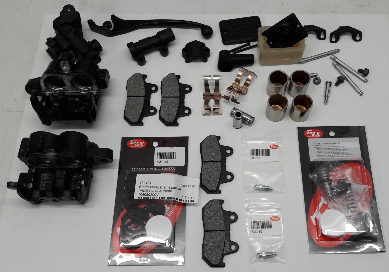 Reparatursatz für die vordere Bremspumpe (CX500 Euro Sport) Hinter10