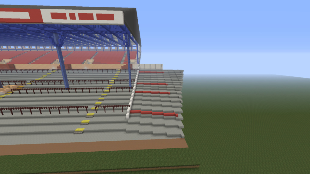 Recreating Burnden Park in Minecraft in time for the 75th anniversary of the disaster Minecr10