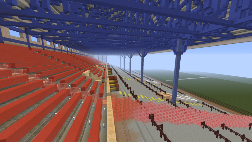 Recreating Burnden Park in Minecraft in time for the 75th anniversary of the disaster Minecr11
