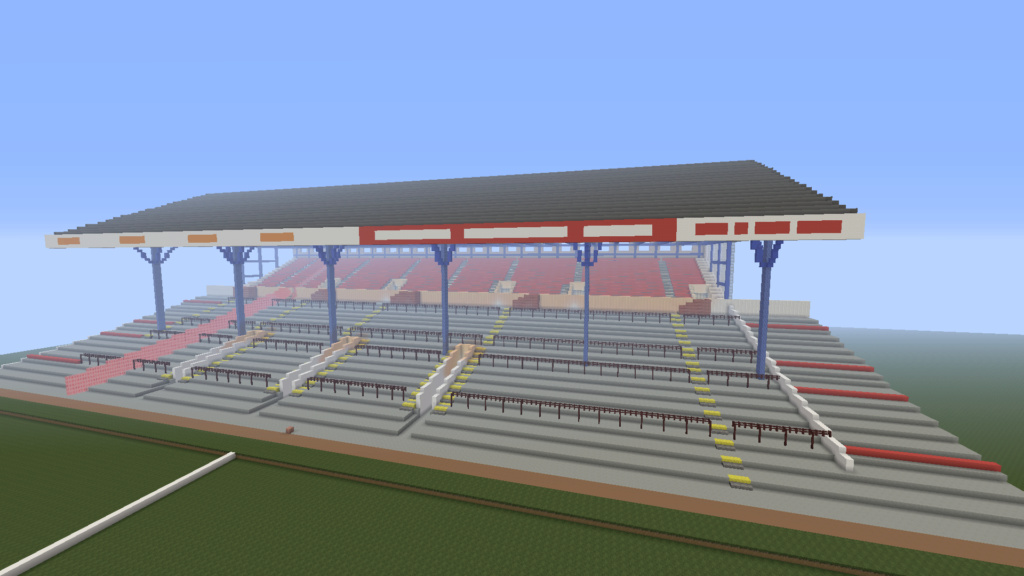 Recreating Burnden Park in Minecraft in time for the 75th anniversary of the disaster Minecr12
