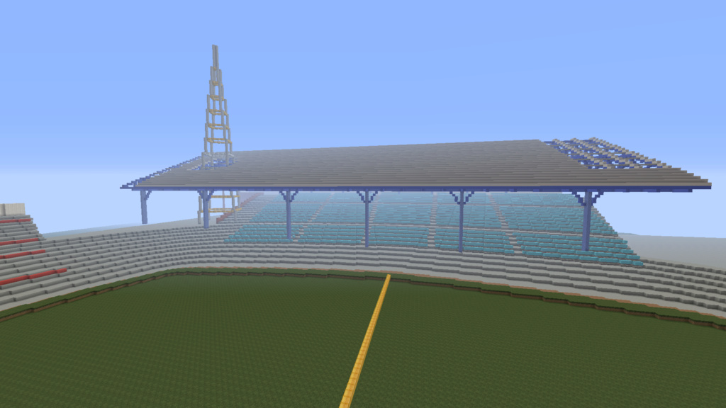 Recreating Burnden Park in Minecraft in time for the 75th anniversary of the disaster Minecr13