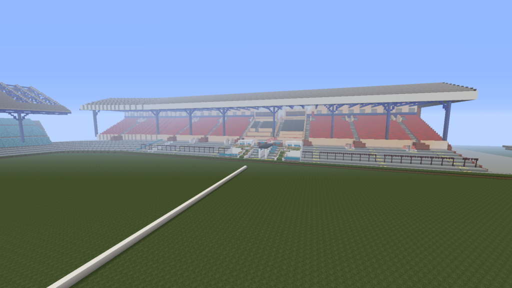 Recreating Burnden Park in Minecraft in time for the 75th anniversary of the disaster Minecr14