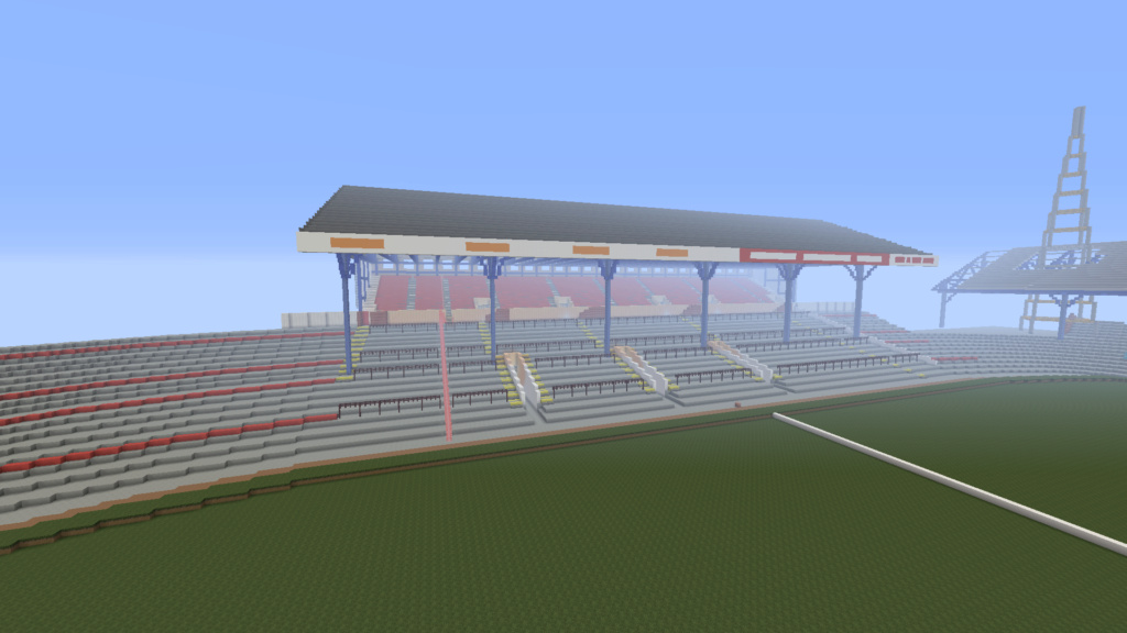 Recreating Burnden Park in Minecraft in time for the 75th anniversary of the disaster Minecr15