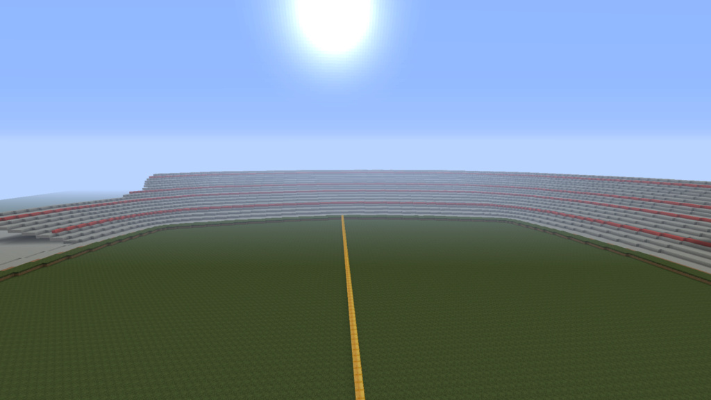 Recreating Burnden Park in Minecraft in time for the 75th anniversary of the disaster Minecr17