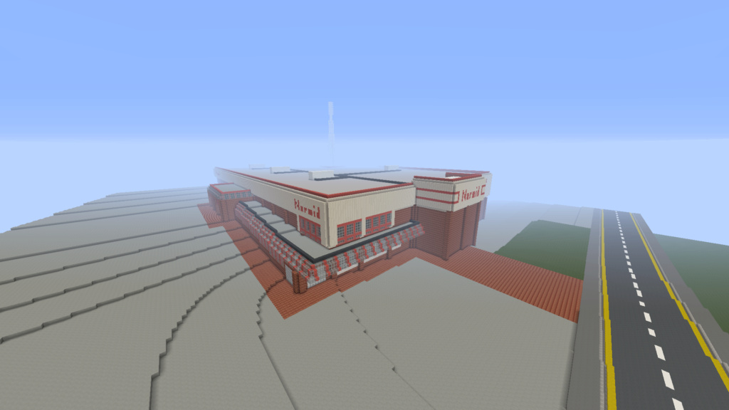 Recreating Burnden Park in Minecraft in time for the 75th anniversary of the disaster Minecr18