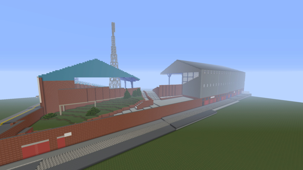 Recreating Burnden Park in Minecraft in time for the 75th anniversary of the disaster Minecr19