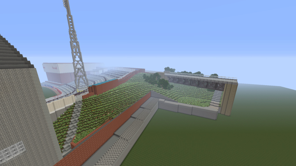 Recreating Burnden Park in Minecraft in time for the 75th anniversary of the disaster Minecr20