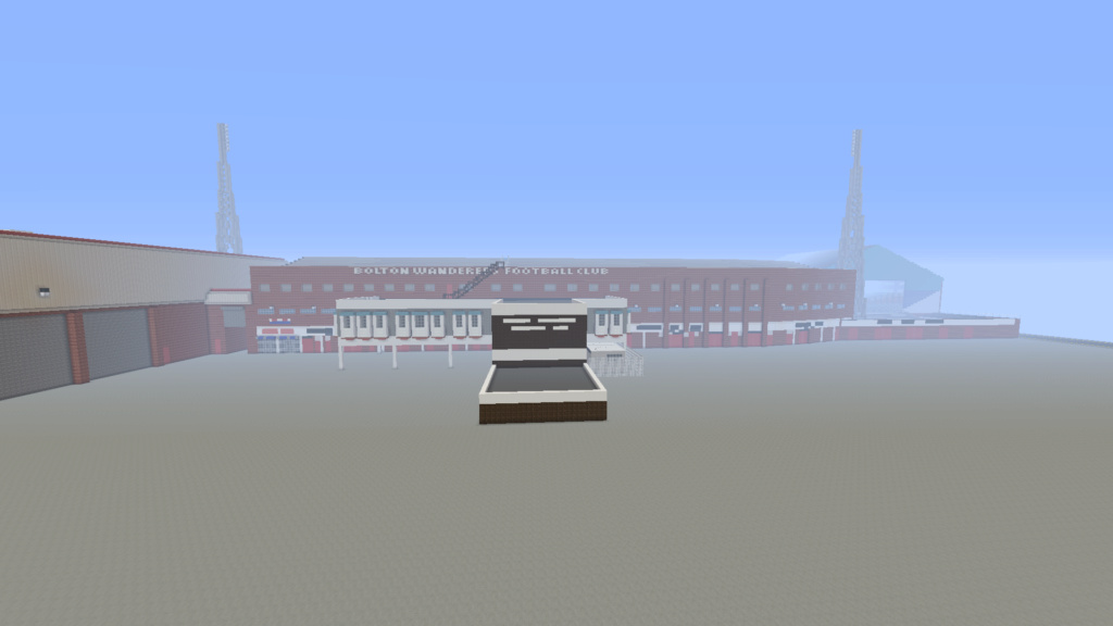 Recreating Burnden Park in Minecraft in time for the 75th anniversary of the disaster Minecr21
