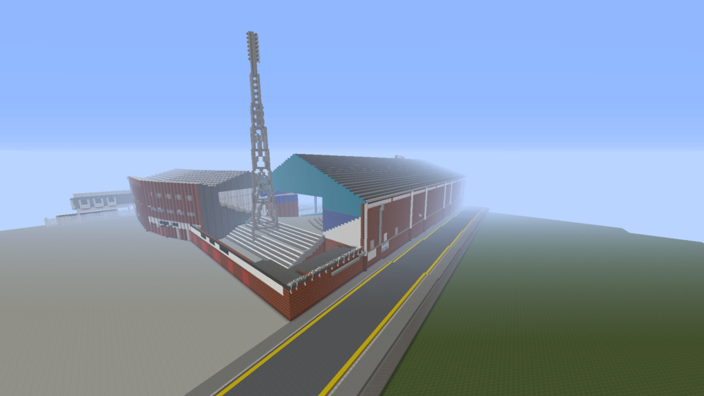 Recreating Burnden Park in Minecraft in time for the 75th anniversary of the disaster Minecr22
