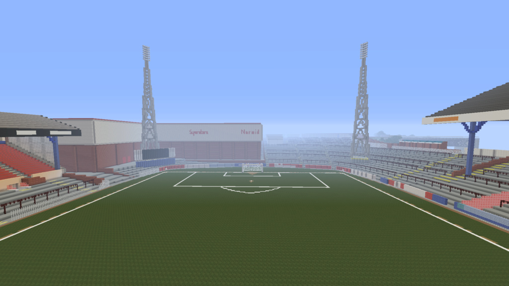 Recreating Burnden Park in Minecraft in time for the 75th anniversary of the disaster Minecr23