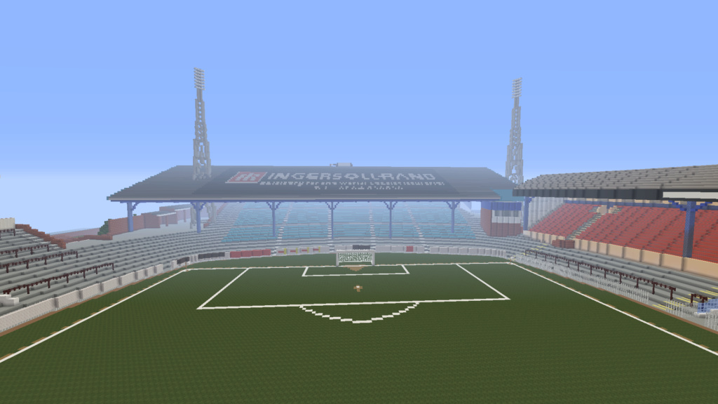 Recreating Burnden Park in Minecraft in time for the 75th anniversary of the disaster Minecr24