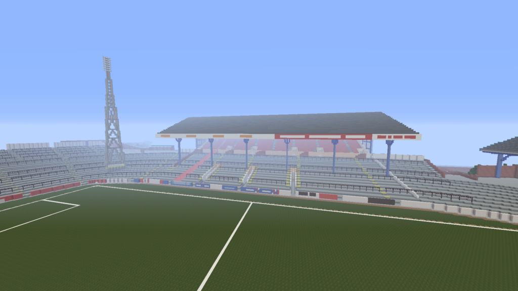 Recreating Burnden Park in Minecraft in time for the 75th anniversary of the disaster Minecr25