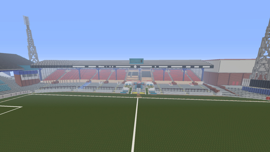 Recreating Burnden Park in Minecraft in time for the 75th anniversary of the disaster Minecr26