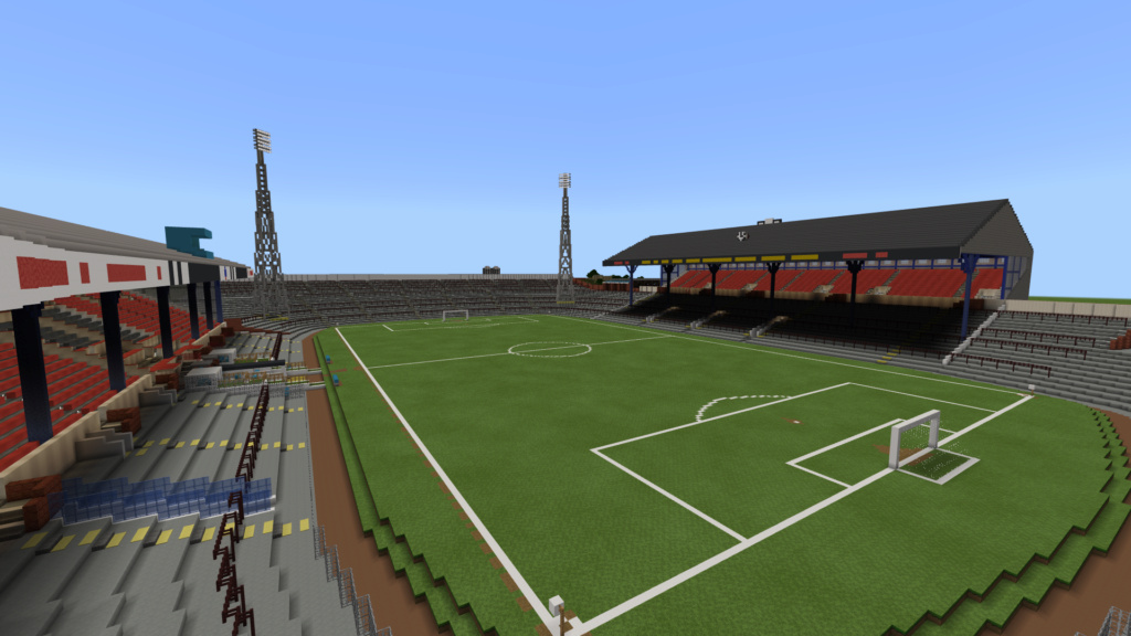 Recreating Burnden Park in Minecraft in time for the 75th anniversary of the disaster Minecr27