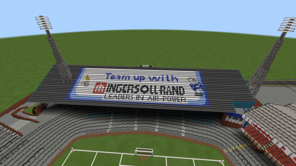 Recreating Burnden Park in Minecraft in time for the 75th anniversary of the disaster Minecr28