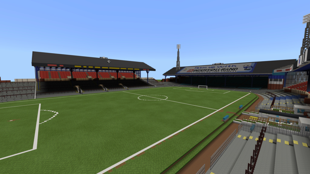 Recreating Burnden Park in Minecraft in time for the 75th anniversary of the disaster Minecr30
